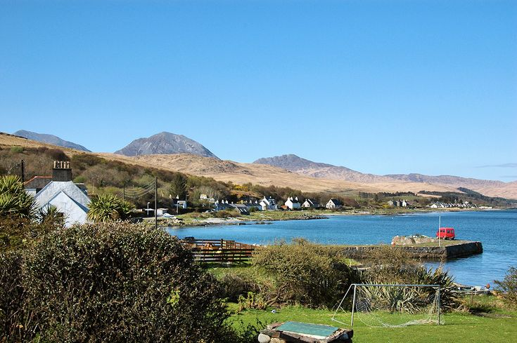 The Paps of Jura from Craighouse, Isle of Jura