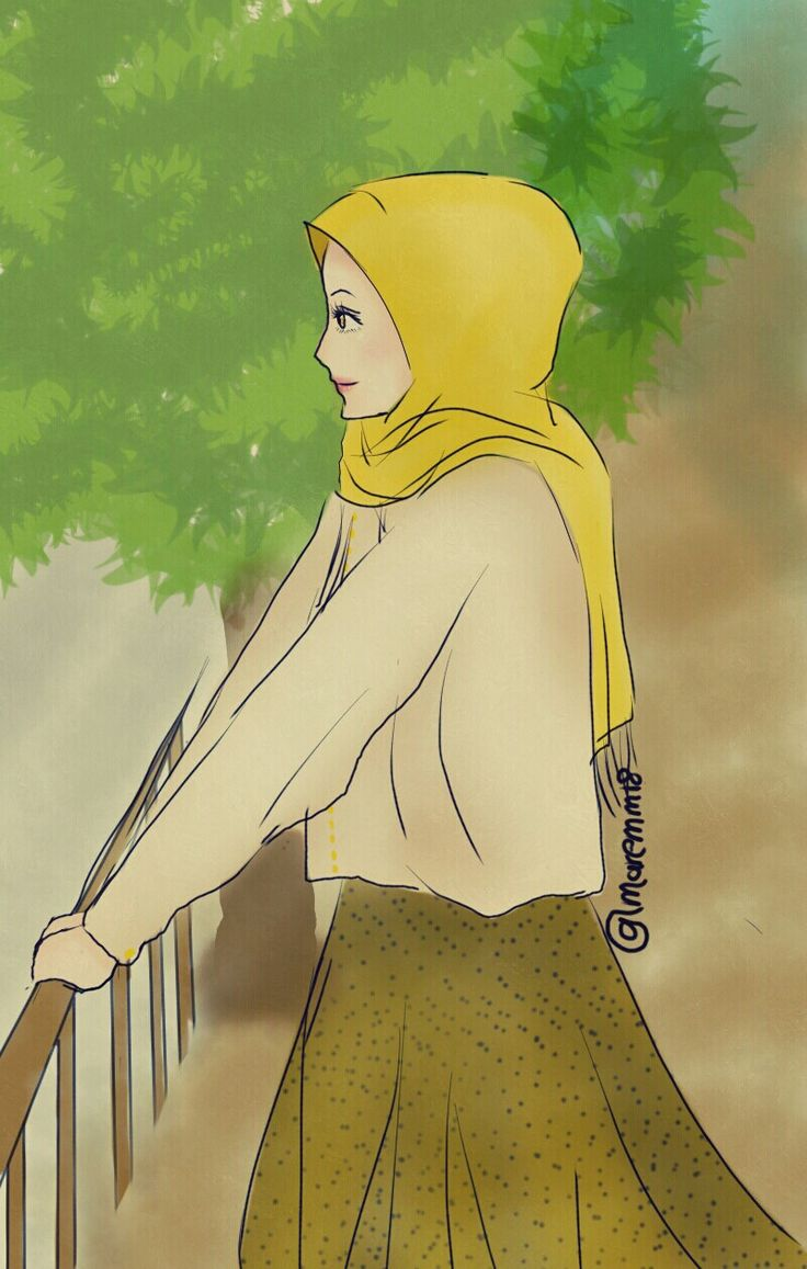 art anime and hijab image on we heart it