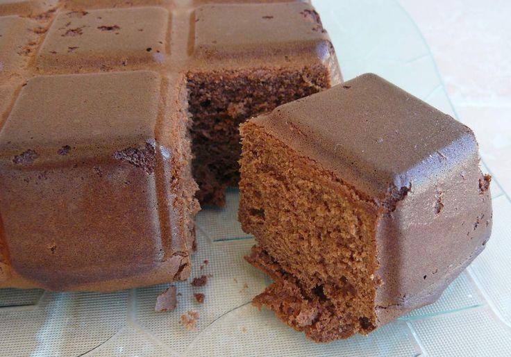 Gâteau au chocolat et au lait concentré
