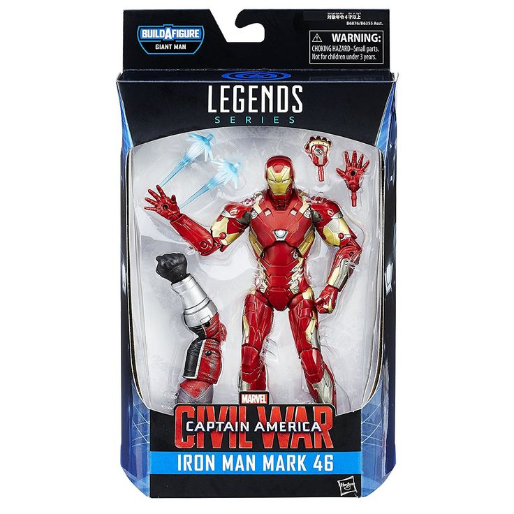 Marvel Legends Series Build A Figure Giant Man Iron Man Mark 46 Figure