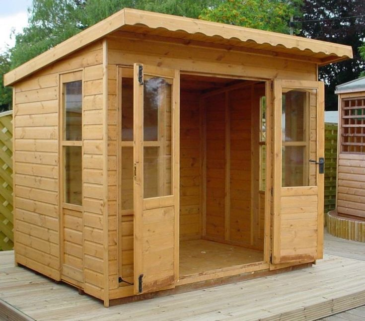 Sheds built on site delaware custom she shed built by at for Small wooden structures