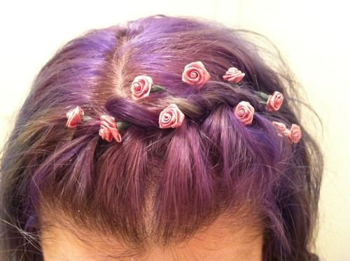 colorful hair styles 25 best ideas about purple braids on 2257 | 32afe98b060bc2257cce52b16fc81947
