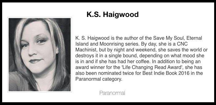 Author of paranormal