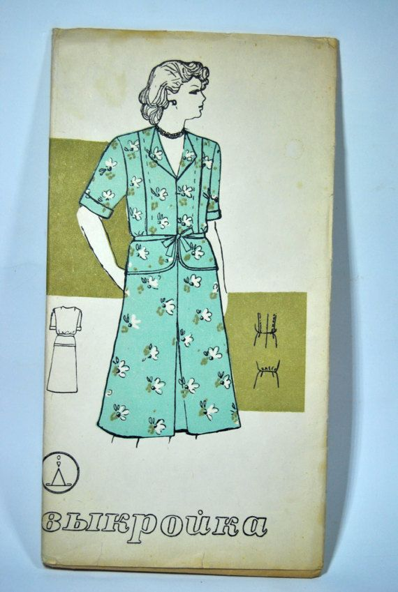 Vintage Sewing Pattern Women's dress basques of by VintageParsel