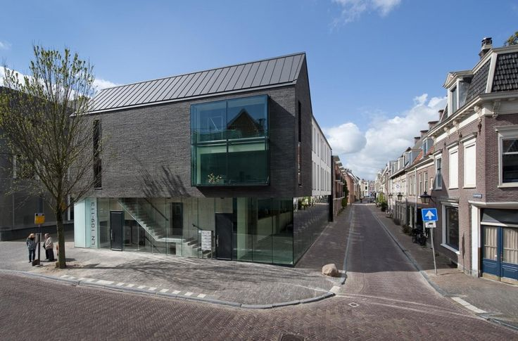 Bakers Architecten_Black House / facade: Kolumba brick K55