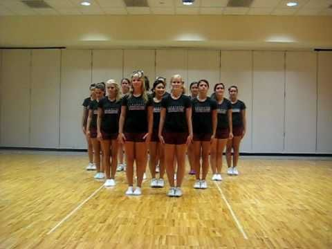 Lafayette College Cheerleading Preseason 2010