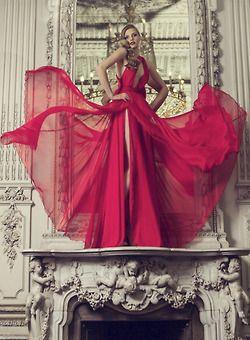 Rojo.