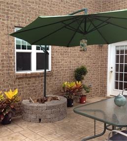 great way to anchor patio umbrella