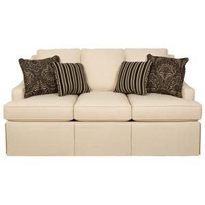 Addison 2830 Elegant Sofa With Fresh Transitional Furniture Styling By  England   Pilgrim Furniture