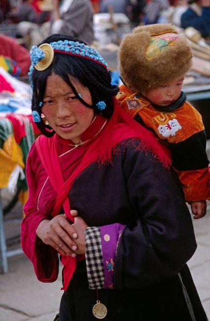circumambulate the Jokhang Temple . Tibet