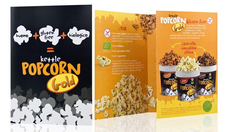 Popcorn Gold - Dépliant #design #brochure
