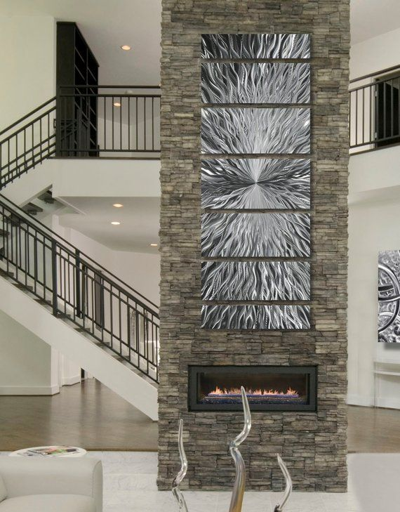 Metal Wall Art Abstract Wall Sculpture Indoor Outdoor Art