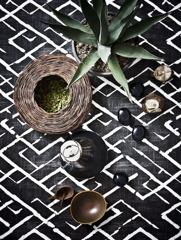 Vosgesparis: African interiors | Black brown and Bamboo                                                                                                                                                                                 More