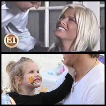 Anna & Dannielynn are like twins! (Anna Nicole Smith & Dannielynn)