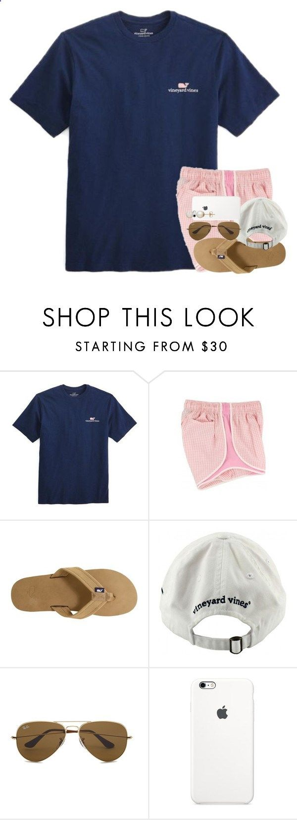 I still dont get Interstellar. by kate-elizabethh ❤ liked on Polyvore featuring Vineyard Vines, Ray-Ban and Honora