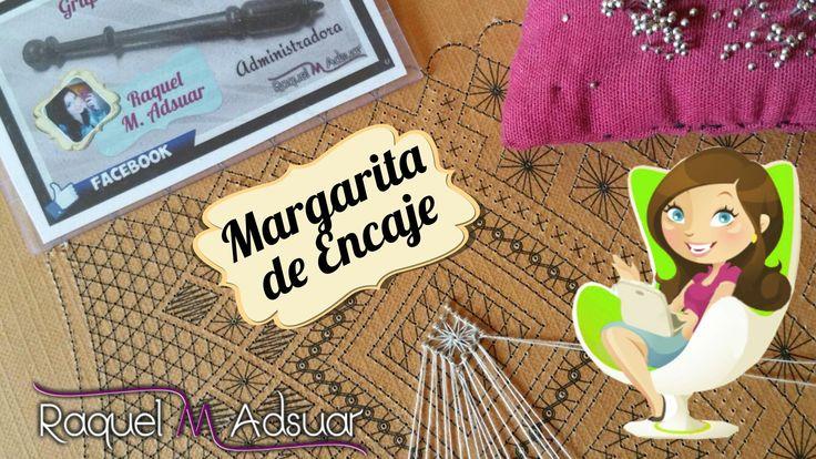 Araña MARGARITA de Encaje de Bolillos. Raquel M. Adsuar - Bolillotutoriales