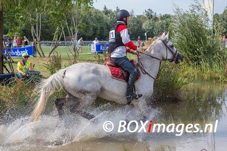 Bastiaan Broeksema tijdens cross county in Outdoor Helvoirt