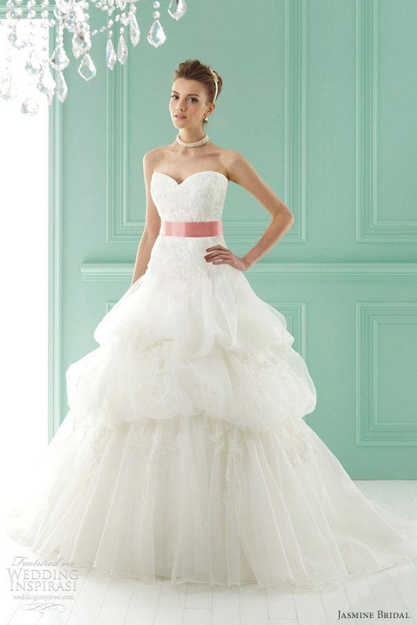 http://www.weddinginspirasi.com/2012/02/04/jasmine-bridal-2012-wedding-dresses/ jasmine bridal #wedding dresses 2012 #weddings #weddingdress