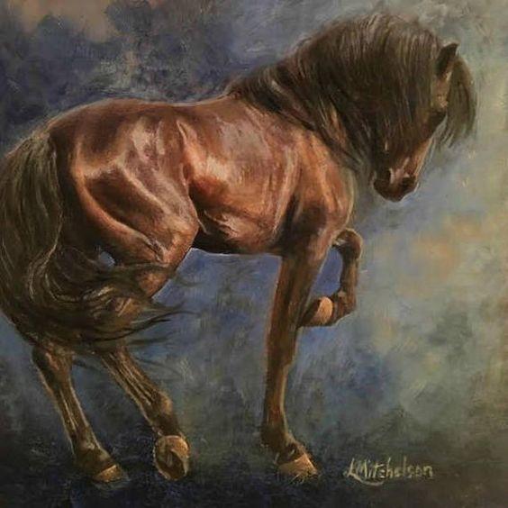 Lee mitchelson mi pasion caballos caballo hermosos y caballo elegante - Pintura instinto ...