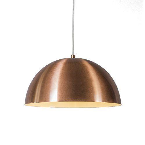 QAZQA Design, Modern Pendant Lamp Magna 35 Matte Copper, Metal, Round, Sphere / Suitable for LED E27 Max. 1 x 60 Watt Qazqa http://www.amazon.co.uk/dp/B00WZ9HG74/ref=cm_sw_r_pi_dp_msAEvb1KSEXV2