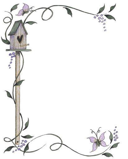 Bordes para decorar hojas - Imagenes y dibujos para imprimirTodo en imagenes y dibujos