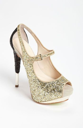 Boutique 9 'Nickeya' Peep Toe Pump available at #Nordstrom