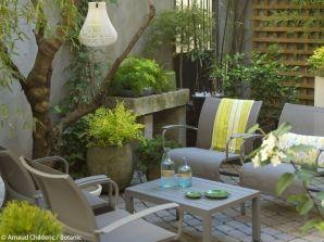 petit salon de jardin gris anthracite