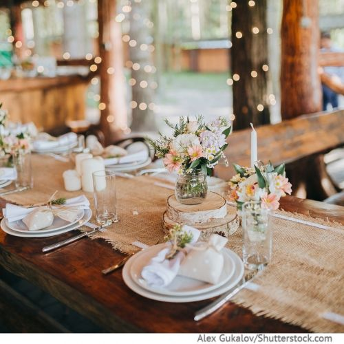 Gestaltung und Stil der Hochzeit