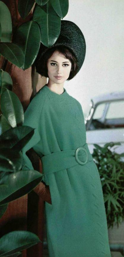 #60s #green #coat