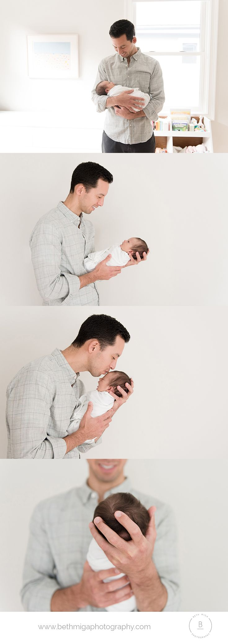 dad and newborn pose ideas | dad with newborn | in home newborn session | dad and baby pose ideas | newborn photography boston