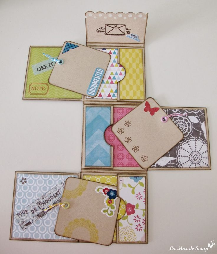 The Sea of ​​Scrap: taverna Tutorial mini album