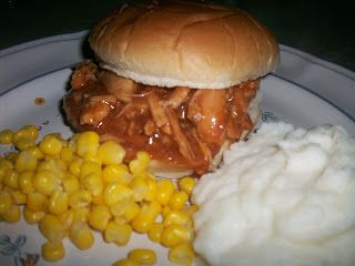 Crock Pot Recipe Exchange: Smokey Honey Barbecued Chicken for Sandwiches