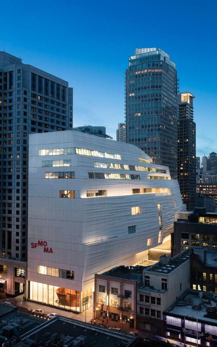 Having closed to the public three years ago to undergo a major extension, the significantly expanded SFMOMA, or the San Francisco Museum of Modern Art, has reopened to the public.