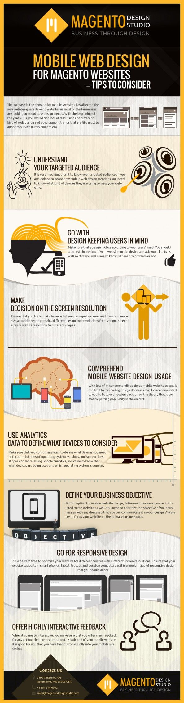 Mobile #WebDesign for Magento Websites – Tips to Consider #web #mobility