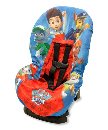 Love this PAW Patrol Toddler Car Seat Cover by Baby Boom on #zulily! #zulilyfinds