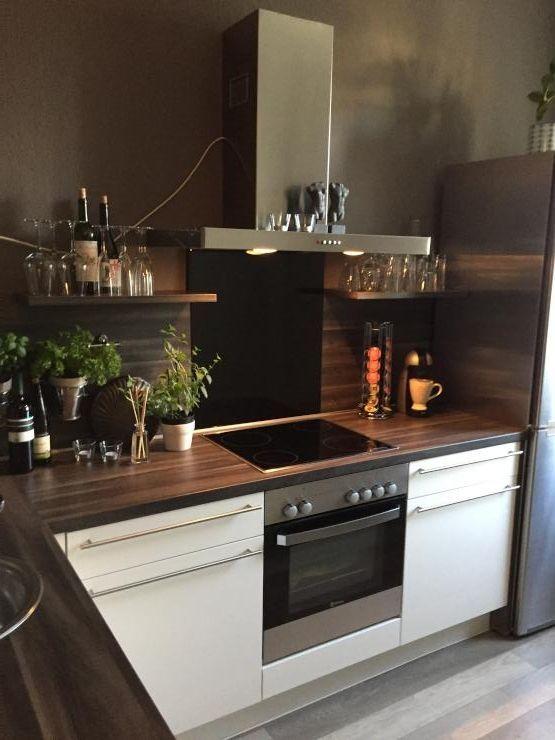 20 besten Schwarze Küchen Bilder auf Pinterest Küche quelle - küche rot hochglanz