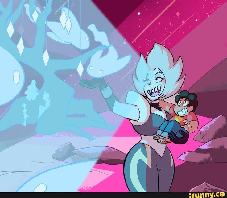 who is that with steven steven universe diamond steven