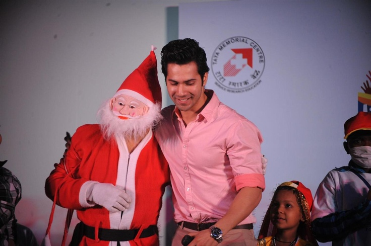Varun Dhawan at Hope 2012 Christmas Celebrations with Cancer Patient Kids