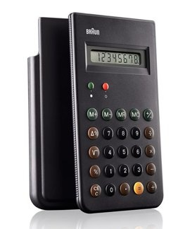 The classic Dieter Rams designed Braun is back and promofabriek can deliver them! look at your iphone calculator....... Now you know