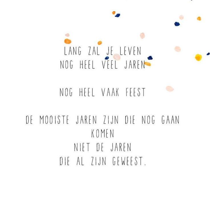 Lang zal je leven... #iederedagfeest X JIP.