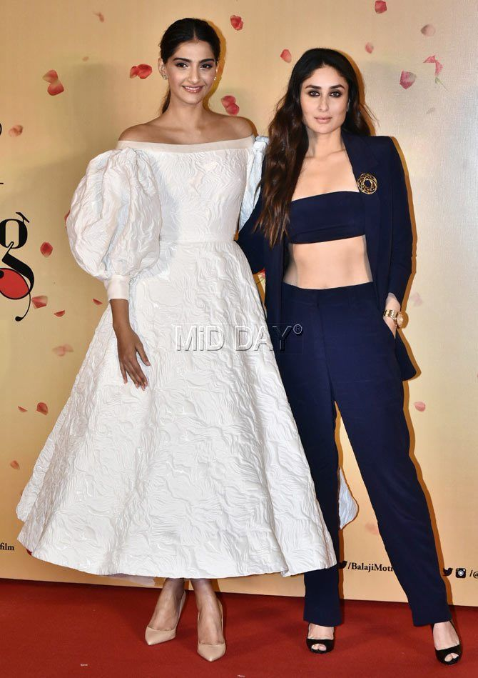 Veere Di Wedding Is All Set To Hit Theatre Screens On The 1st June 2018 There Has Been Massive An Sonam Kapoor Fashion Designer Dresses Indian Bollywood Girls