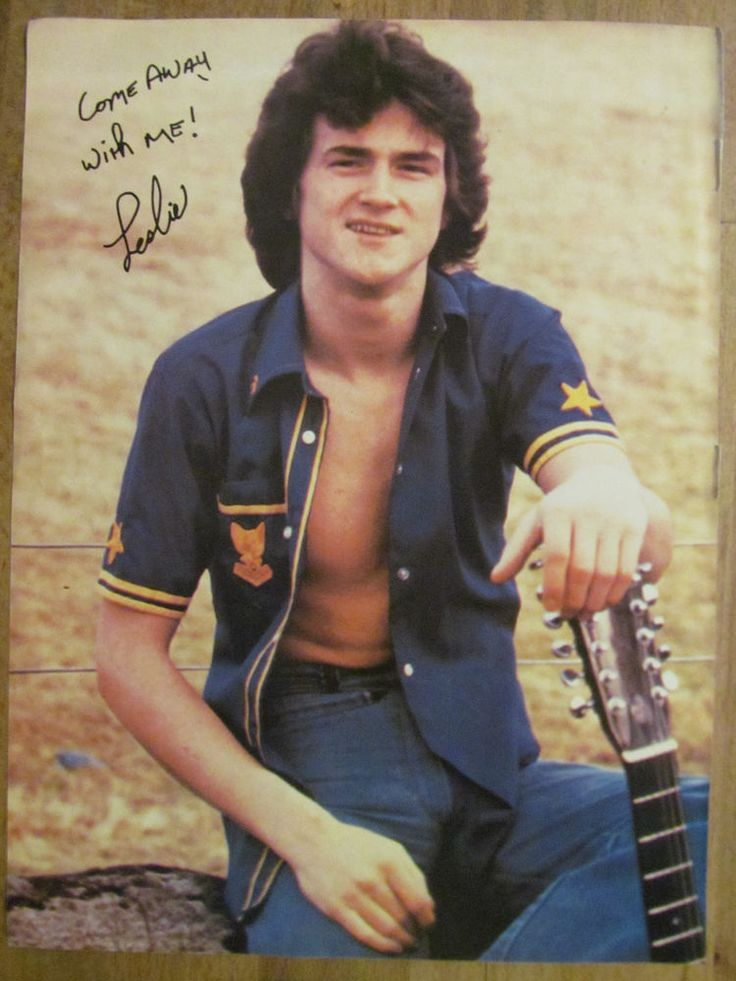 Bay City Rollers, Les McKeown, Full Page Vintage Pinup