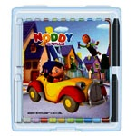 Noddy Oil Pastel 24 colors for your budding artist. Let them have fun of drawing, coloring and portraying their imaginations in these summer holidays...