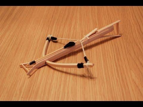 Mini Crossbow!