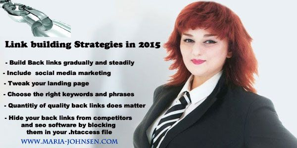 Link building SEO Strategies and Social Media Marketing 2015  http://www.maria-johnsen.com/multilingualSEO-blog/link-building-seo-strategies-and-social-media-marketing-2015/