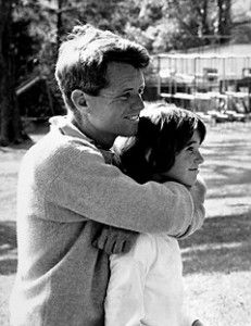 Bobby Kennedy with his daughter Kathleen. She just came to my school to speak.  So inspiring.