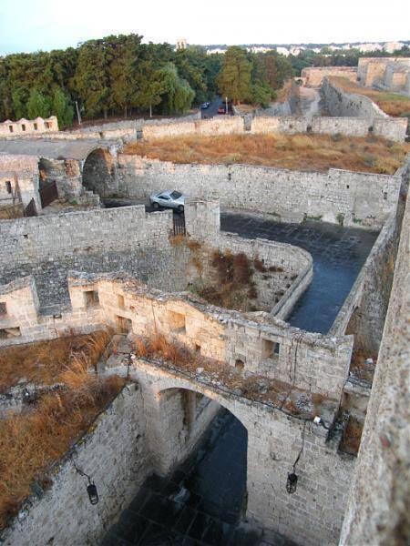 Ρόδος (Rhodos,Rhodes,Rodos) στην τοποθεσία The Old Town, Rhodes, Greece.