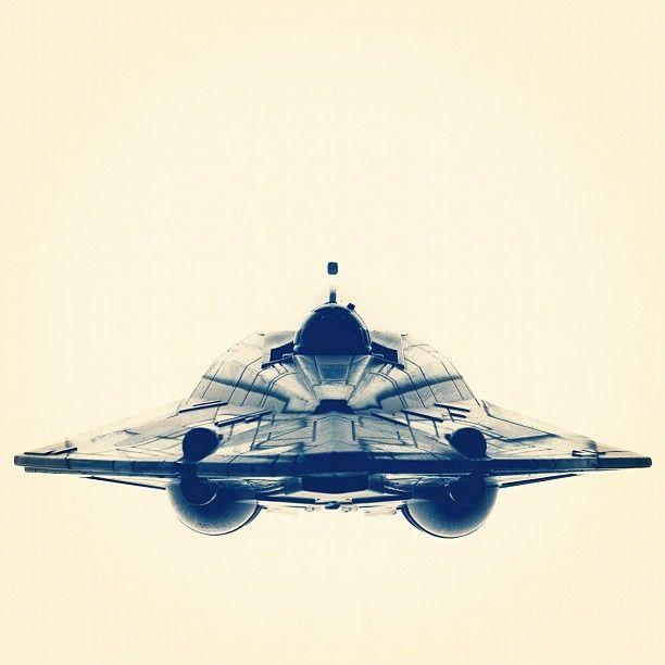 Anakin's Jedi Starfighter. Photo by Avanaut.