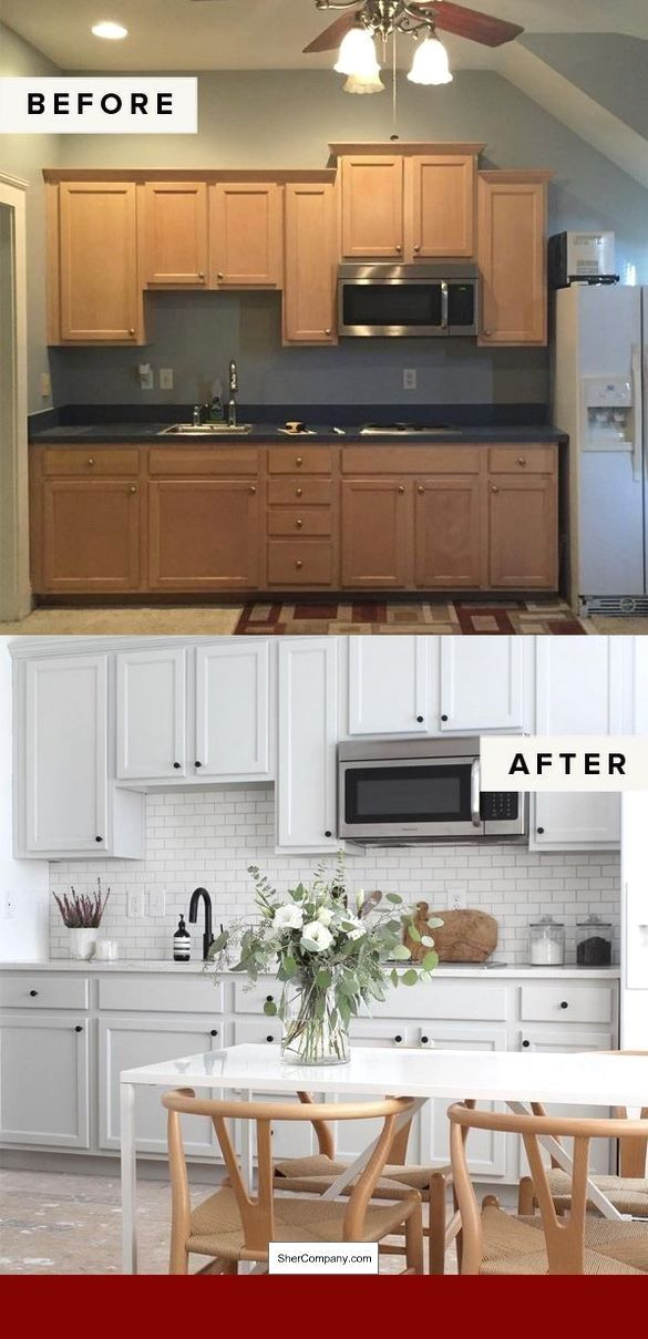 Cost Of Small Kitchen Remodel Uk And Pics Of Tiny Kitchen Remodeling Ideas Kitchenremode Kitchen Remodel Cost Simple Kitchen Remodel White Kitchen Remodeling