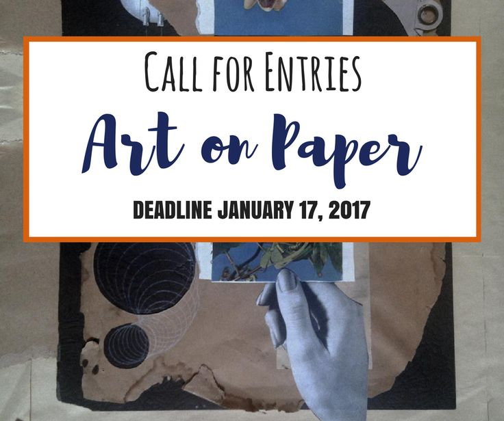 ART ON PAPER - DEADLINE JANUARY 17, 2017 - $1000 IN AWARDS - Art on Paper is MFA's 40th annual open juried exhibition of artwork created on or of paper. Original 2-D or 3-D work created on or of paper without the artist's use of software is eligible. Juror is Ann Shafer, Associate Curator of Prints, Drawings and Photographs at The Baltimore Museum of Art. The exhibit will display at MFA's Circle Gallery March 30-April 29 http://www.theartlist.com/art-calls/art-on-paper